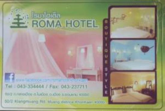 Roma Hotel: Rom Hotel