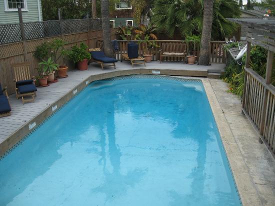 Carole's Bed & Breakfast Inn : Pool area
