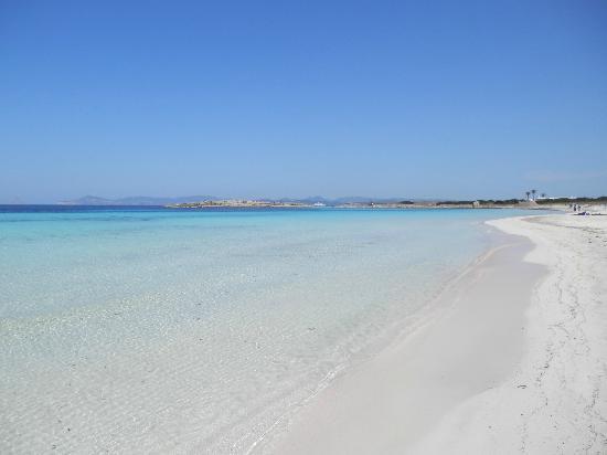Strand Playa de ses Illetes: Strand Mai 2012