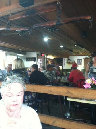 inside the whiffletree restaurant