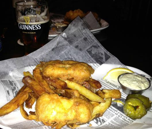 The Liffey: Fish & Chips