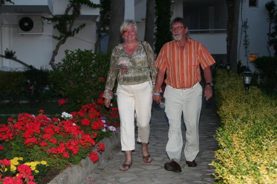 Yalihan Aspendos : Gang zum Restaurant
