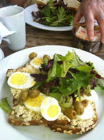 Good: Tuna Salad Tartine