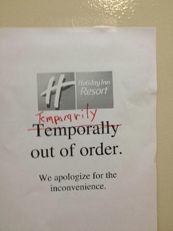 Holiday Inn Resort Orlando-Lake Buena Vista: The Elevators