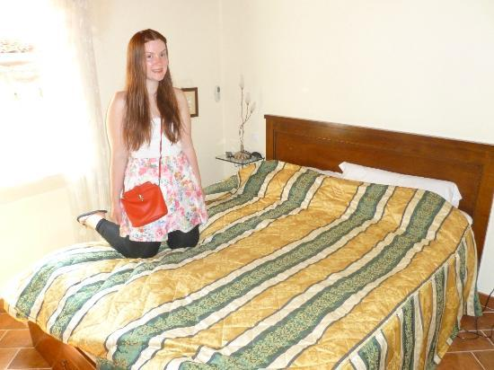 Bed & Breakfast Ca' Noemi: The bedroom! (Pretty girl not included)