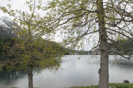 Lake of Staz (Lej da Staz): lago