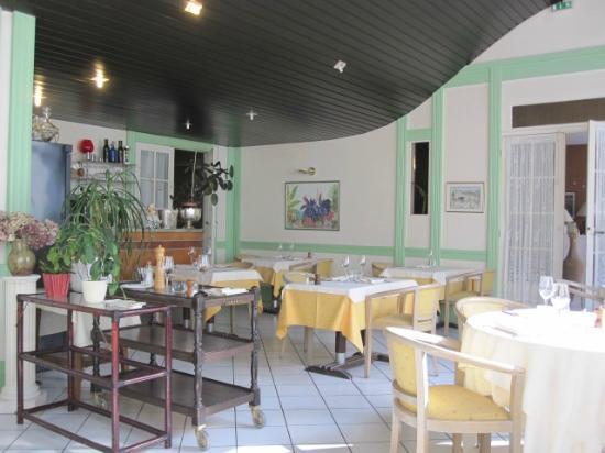 Hotel Bellevue: Dining area