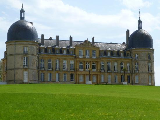 Chateau de Digoine : Façade côté parc