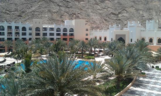 Shangri La Barr Al Jissah Resort & Spa-Al Bandar : view from from the room