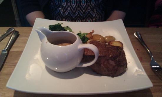Amethyst: Fantastic steak!