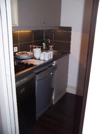 Aparthotel Adagio La Defense Kleber: cuisine