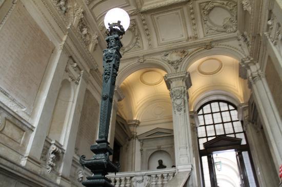 Palazzo Marino: lo scalone