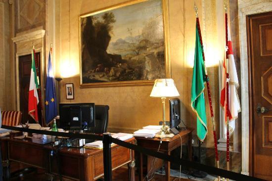 Palazzo Marino: l'ufficio del sindaco