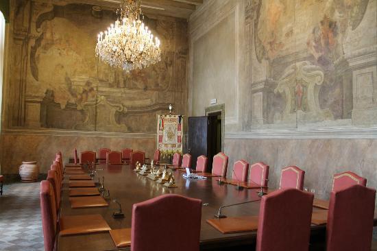 Palazzo Marino: sala riunioni