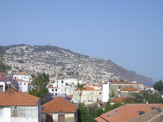 Apartamentos São Paulo e Alegria : Vista parcial de Funchal desde la terraza de los apartamentos Sao Paulo