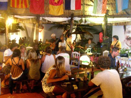 Poc-Na Hostel: Live music at the hostel