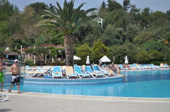 Paloma Club Sultan Ozdere: piscine agréable et des activitées sympatique merci