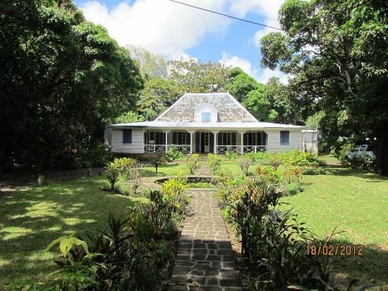 Chez Tante Athalie : Traditional colonial house