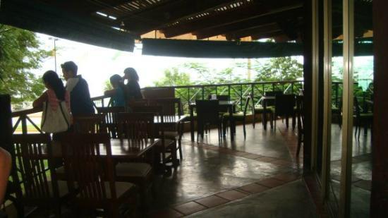 Restaurante Pencas: The balcony outdoors