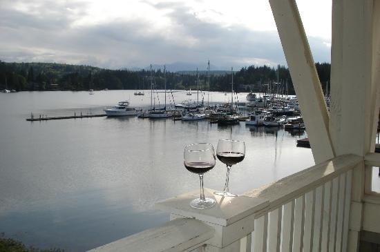 The Resort at Port Ludlow: view from suite balcony