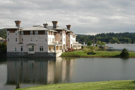 The Resort at Port Ludlow: View from the road