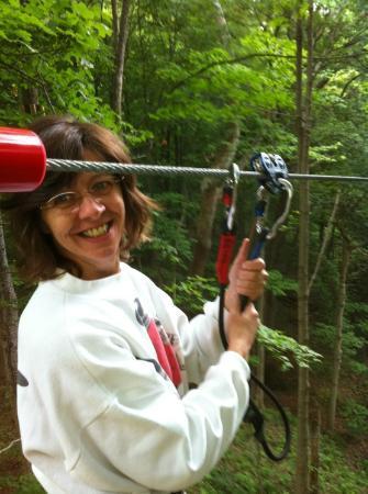 Go Ape Treetop Adventure Course : Becky Goes Ape!