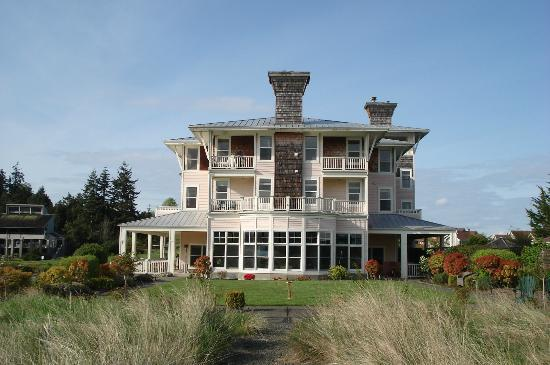 The Resort at Port Ludlow: View from walkway