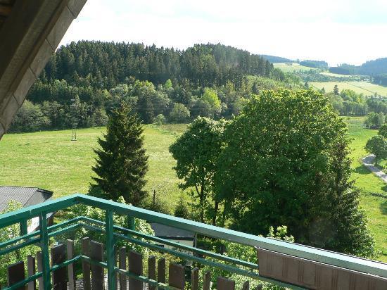 Heide Hotel Hildfeld: View from balcony