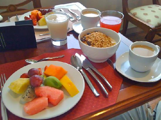 NH Collection Quito Royal: Breakfast was worth the splurge