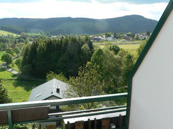 Heide Hotel Hildfeld: View from balcony