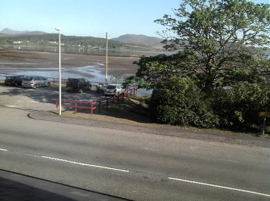 Hebridean Hotel: Daytime view from Single Room