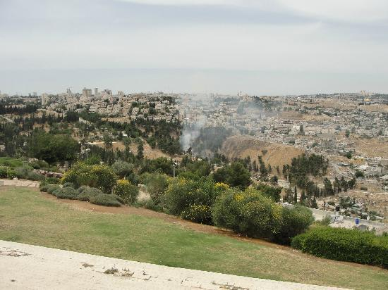 Tayelet Haas Promenade: View of Jerusalem