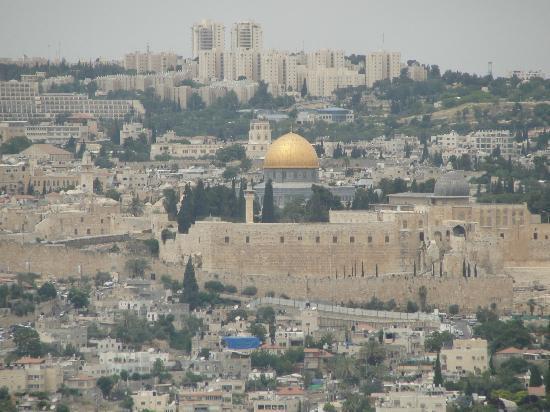 Tayelet Haas Promenade: Jerusalem from Taielet
