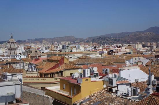 Hotel Molina Lario: Blick von der Dachterasse