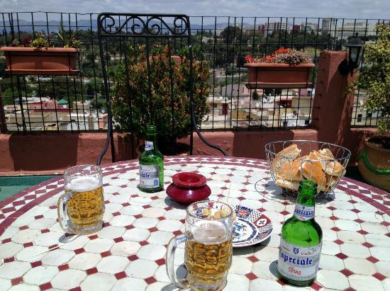 Collier de la Colombe: La bière locale