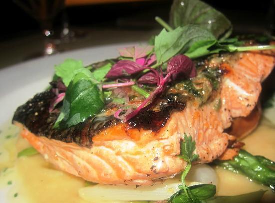 Mistral: Grilled Wild Salmon