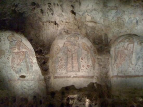 Cripta del Peccato Originale: All'interno