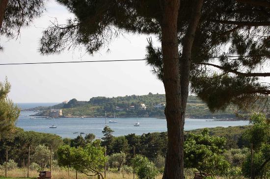 """Alghero - spiaggia del Lazzareto vista da """"Le ragnatele"""""""