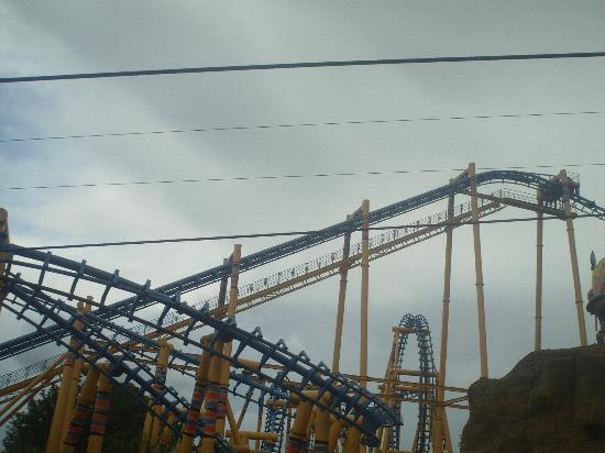 Flamingo Land ltd: The KUMALI, the biggest roller coaster at Flamingo Land