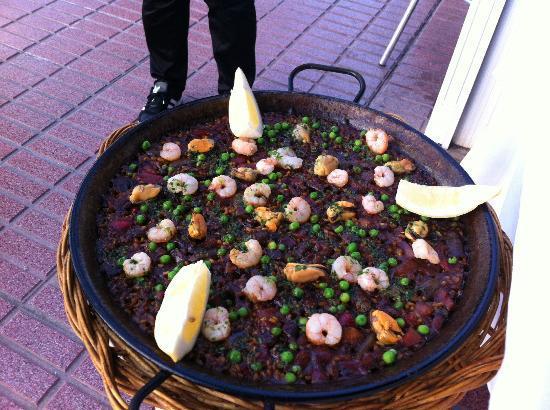 El Coche : Fisch-Paella