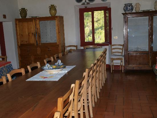 Il Paretaio: Dining room