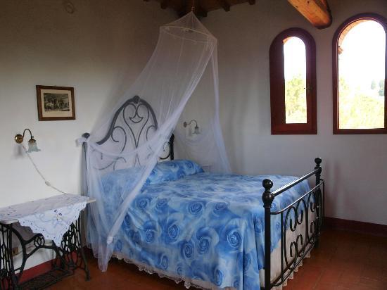 Il Paretaio: The tower room  La Piccionaia