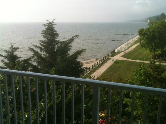 Chesapeake Beach Resort and Spa : View to the South