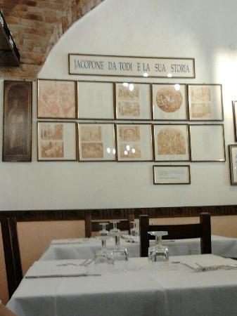 Ristorante Jacopone : parete