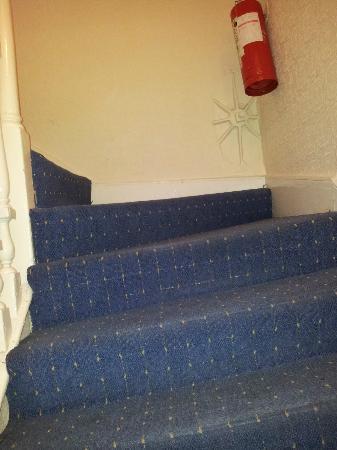 Bridge House Dublin: escaleras inclinadas