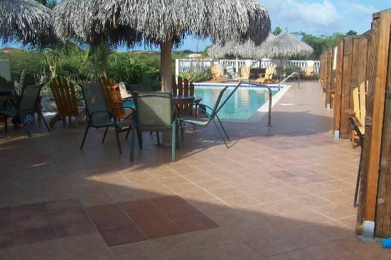 Aruba Cunucu Residence: The Pool Deck