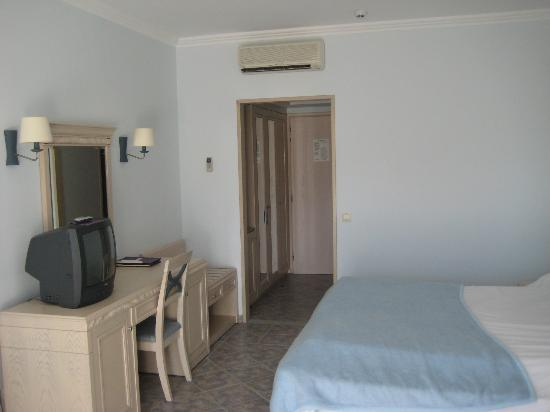 Lindos Princess Beach Hotel: kamer (2/3 persoons)