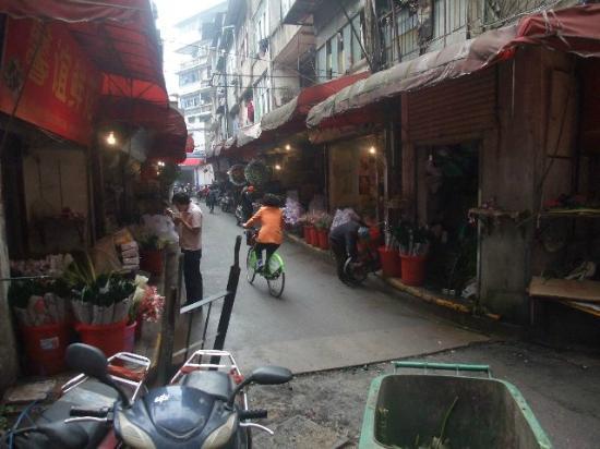 Meilian City Holiday Hotel : Ein wenig altes China ist noch in der Nähe
