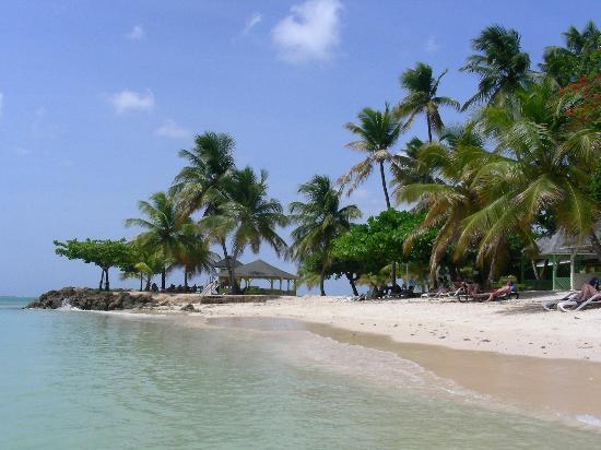 Lowlands, Tobago: Pigeon Bech (Karibikseite)