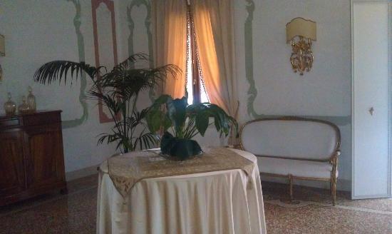 Villa Contarini Nenzi Hotel: Parlor